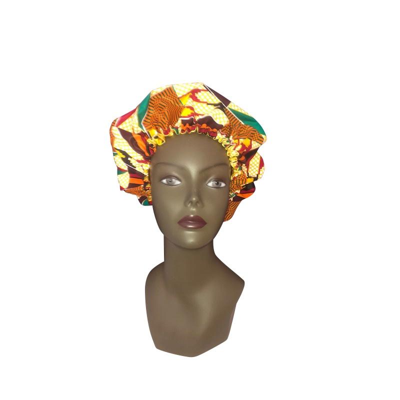 Bonnet Wax & Satin Tanza réglable by Georges Décimus