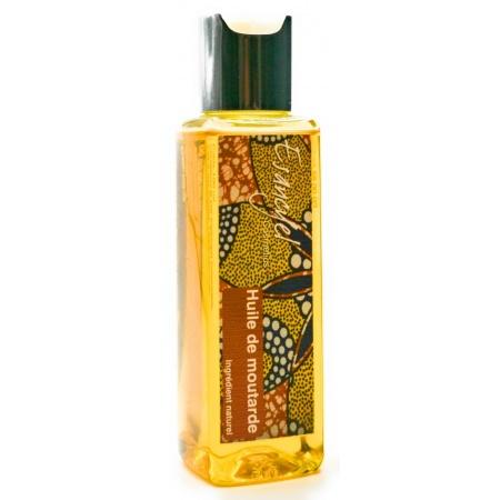 Huile naturelle de Moutarde - stimule la repousse et freine la chute des cheveux -100 ml