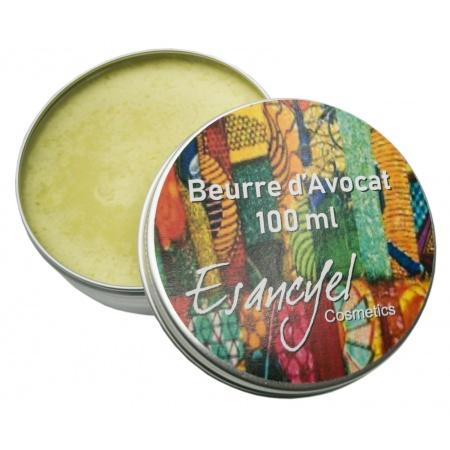 Beurre d'Avocat -hydratant peau sèche ou abimée- 100 ml