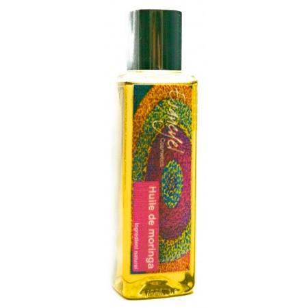 Huile végétale naturelle de Moringa - véritable soin réparateur -100 ml