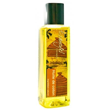 Huile pure et naturelle de Coton -redonne de la souplesse-100 ml