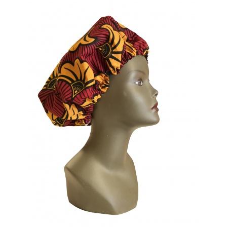 Bonnet Wax & Satin Réglable - Protège la chevelure du Déssèchement -