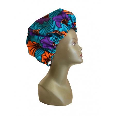 ESANCYEL COSMETICS - Bonnet Wax & Satin Réglable - Protège la Chevelure du Dessèchement