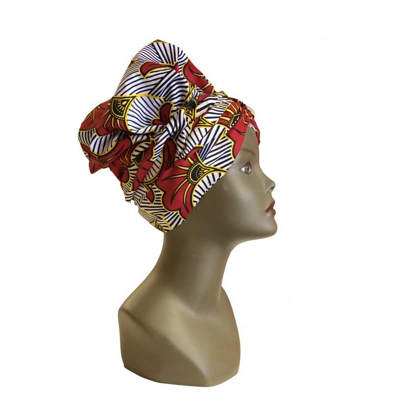 Elégant Turban en tissu  Africain