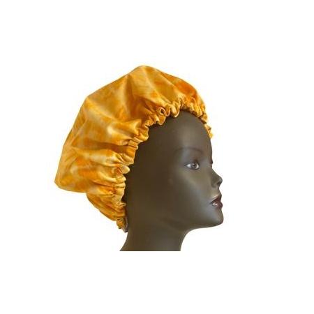 Bonnet de nuit réglable Tye and die jaune