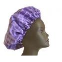 Bonnet de nuit réglable Tye and Die violet