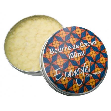 Beurre de Cacao 100% naturel -nourrit et protège la peau et les cheveux- 100 ml