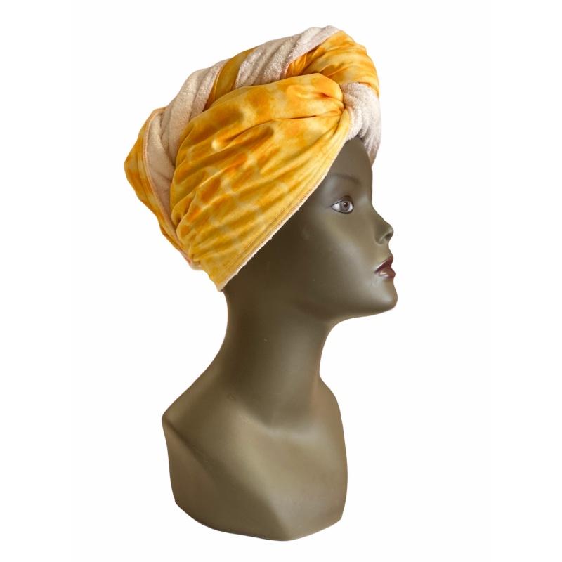 Séchage de cheveux : La serviette en microfibres